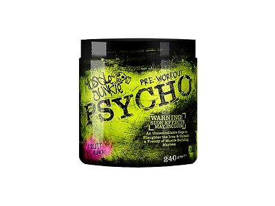 Muscle junkie Psycho Pre-Workout Blaster Original Version