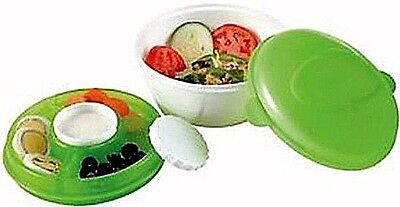 Salad To Go - Cool Gear Lunchbox Plastic Food Container With Freezable Lid