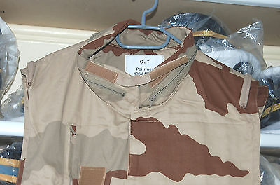 French Army Body Armour Jacket-Vest In Daguet Dest Camo Ideal For Paint Balling.