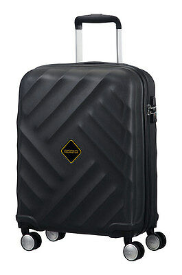 """Spinner 20"""" AMERICAN TOURISTER Crystal Glow Black"""