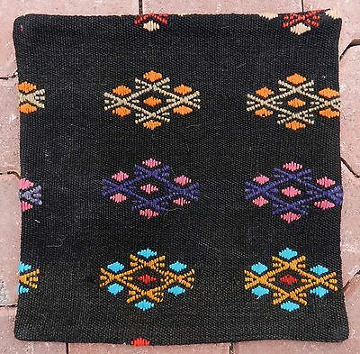 "16"" x 16"" Very Fine Quality Veg. Dyes Vintage Turkish Kilim Pillow Cover Cushion"