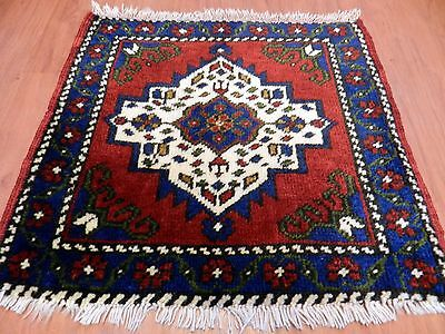 Square Size Small Vintage Turkish Taspinar Carpet Home Decor Antique Wool Rug