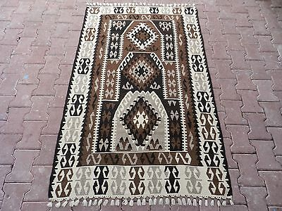 "RARE Gorgeous Turkish Kayseri Kilim Rug Undyed Traditiona Desing Kelim 44""x69"""