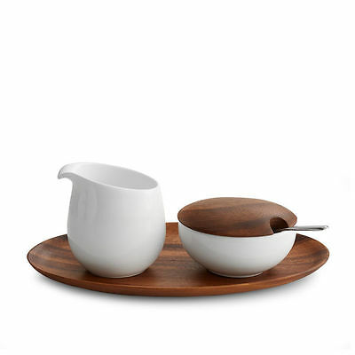 Nambe Skye Sugar and Creamer Set