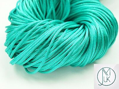 Silicone Teething Accessory Silk Cord for Teething Jewellery Making 18 Colors