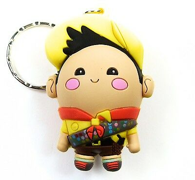 """Disney 3D Figural Keyring Series 3 RUSSELL FROM UP 3"""" KEYCHAIN Blind Bag NEW"""