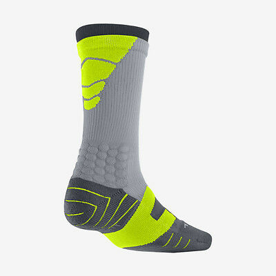 Nike Vapor Crew Cushioned Football Socks- Style SX4598-017- Size 6-8 (Medium)