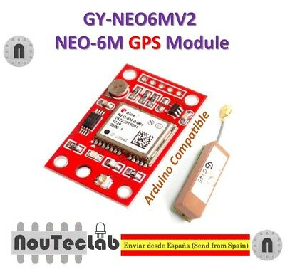 GY-NEO6MV2 NEO-6M GPS Module NEO6MV2 with Small Antenna for Arduino