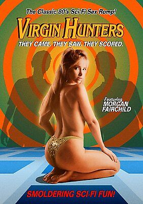 Virgin Hunters DVD, aka Test Tube Teens From The Year 2000, Morgan Fairchild