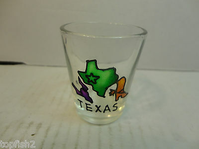 Texas Shot Glass (Used/EUC)
