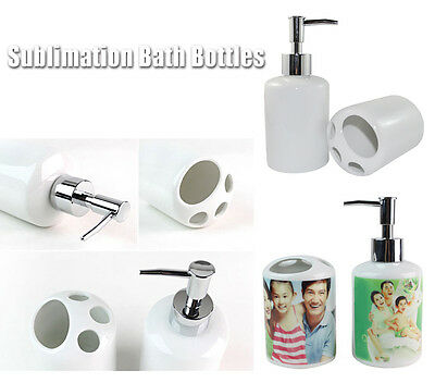 4Sets Sublimation Bath Bottles for Heating Transfer DIY Crafts Free Shipping