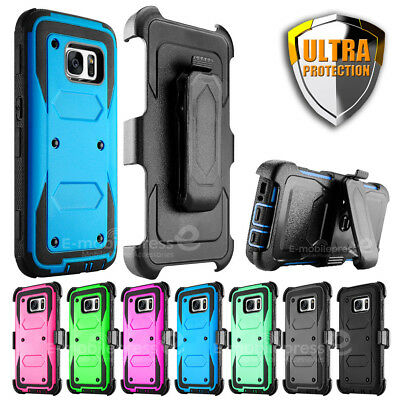 For Samsung Galaxy S7 edge Belt Clip Holster Shockproof Heavy Duty Case Cover