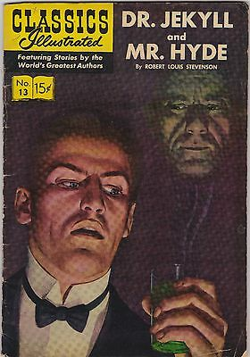 Classics Illustrated #13 Dr. Jekyll and Mr. Hyde by Robert L. Stevenson (1944)