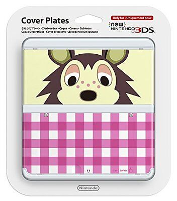 New Nintendo 3ds Cover Plates No.016(Animal Crossing: Mabel). [Japan Import]