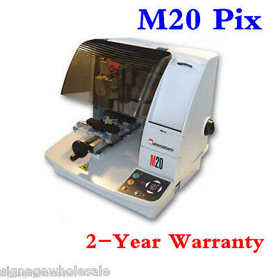 TOP Gravograph M20Pix Mechanical Photo Engraver  for Picture and Text Engraving