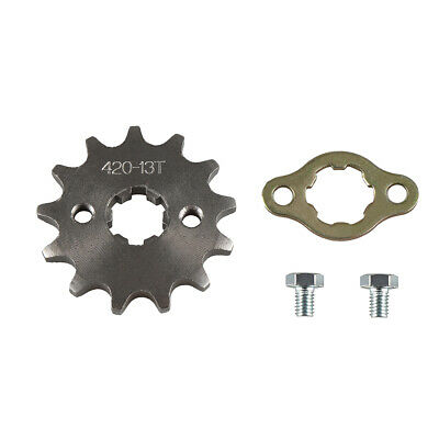 420 13T 17mm Front Chain Sprocket Gear 50cc 70 90 110cc 125cc ATV Pit Dirt Bike
