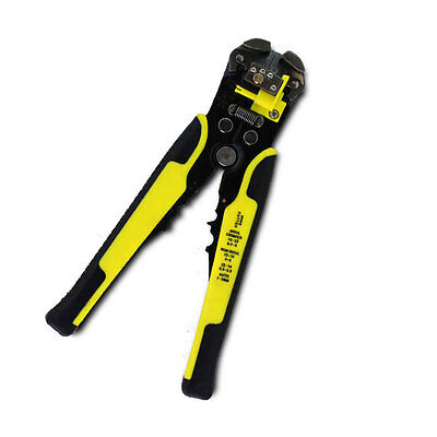 Wire Cable Terminal Crimper Stripper Multifunctional Cutter Tool AWG 22-10