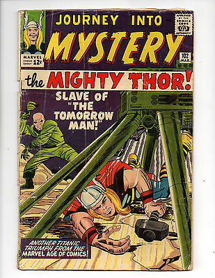 Journey Into Mystery #102 (1964, Marvel) 1st App Hela, Sif & Norns, Lee, G/G+