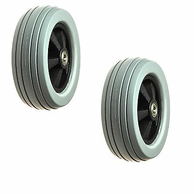 """Caster Wheels 6""""x2"""" for the Golden Technologies Compass (GP600, GP620,GP605) NEW"""