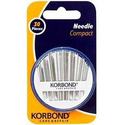 Korbond Needle Compact 30pcs Care & Repair NEW 110251