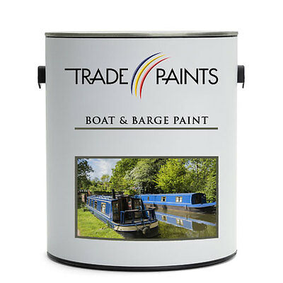 BOAT & BARGE PAINTS - Metal|Wood|Fibreglass Primer | Topcoat | 100's Of Colours