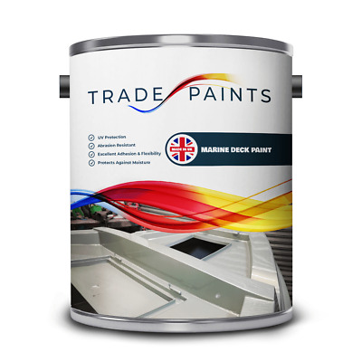 Boat Barge & Marine Deck Floor Paint - Fast Drying - 100's of Colours