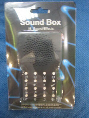 Sound Box - Geräusche Box - Sound Maschine - 16 Sound Effekte - neu
