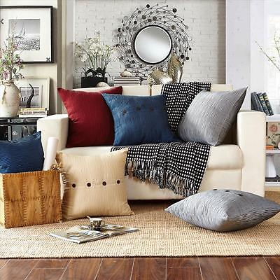 New Premium Quality Home decor Sofa Cushion Cover Corrugated pattern 6 colours