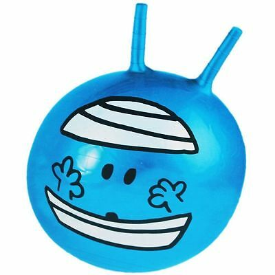 NEW Mr Men Mr Bump Inflatable Space Hopper Toy ~ Measures Approximately 50Cm