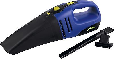 Challenge Xtreme 12V Wet and Dry Car 60W Vacuum Cleaner - Black/Blue.