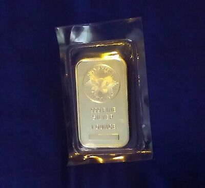 1oz Silver Bar-Bullion Investment Sunshine Mint .999 Fine. In protective plastic