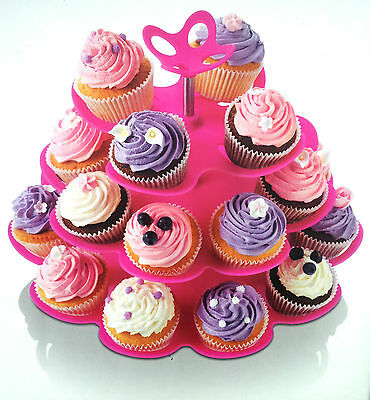 Every Occasion - Multi Size Fairy Cake Stand - 4 Tier With Cake Plate - Zeal