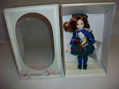 "Suzanne Gibson Dolls from Reeves International Scotland Scottish Doll 9"" 1987"