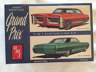 AMT '65 Pontiac Grand Prix 3 in 1 Customizing Kit, Model Car, OPEN box, 6655