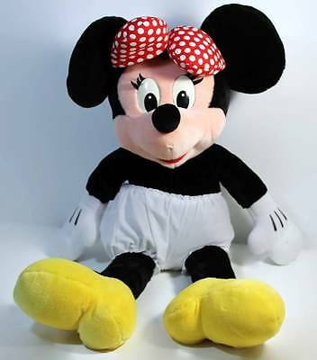 Disney Minnie Mouse Stuffed Plush Doll Large Size 25 Inches