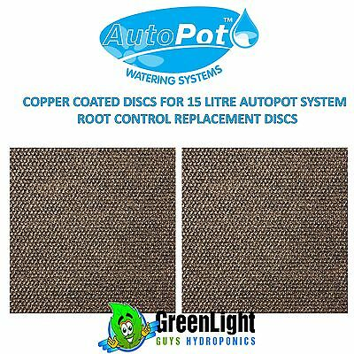 copper coated disc for 15 litre autopot, square, replacement