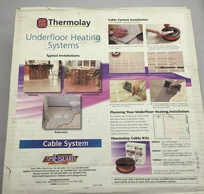 Timeguard Underfloor Heating Cable 64M -Ufhc64