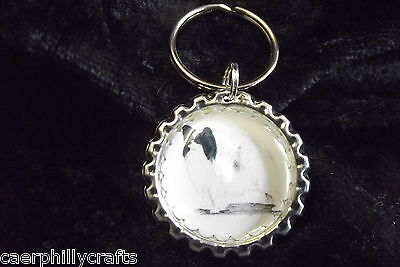 Papillon Keyring by Curiosity Crafts