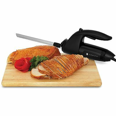 Wolfgang Puck Electric Kitchen Dining Table Knife with Rotary Handle CCEKF015 -