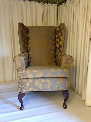 Wing Chair. Orchard Gold. Reduced To Clear Was £179.95 Now £149.95