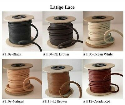 "Latigo Leather Lace, 3.0mm (1/8"") Extra Strong! *"