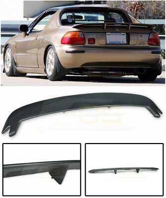 For 93-97 Honda Civic CRX Del Sol Mugen Style Rear Trunk Lip Spoiler Wing Kit