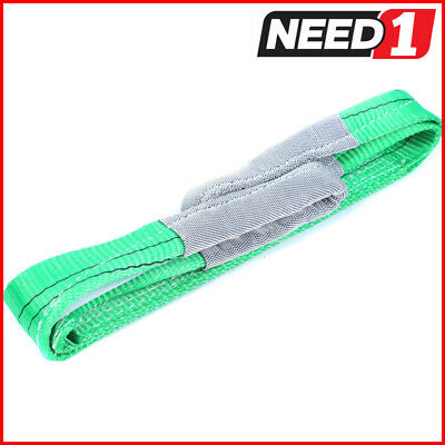 LIFT SAFE 2T x 1.5M Flat Lifting Sling 100% Polyester c/w Test Certificate