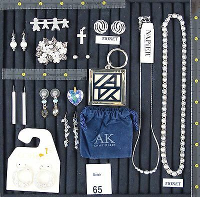 New & Pre-Owned Designer Signed Jewelry Multiple Item Lot: Anne Klein, Napier