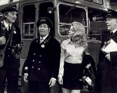 On The Buses Great Depot BW 10x8 Photo