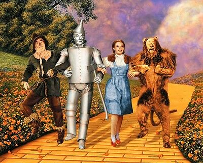 The Wizard of Oz Great Yellow Brick Road 10x8 Photo