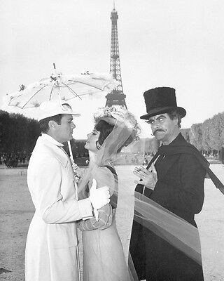 Tony Curtis Natalie Wood and Jack Lemmon The Great Race BW 10x8 Photo