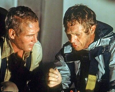 Towering Inferno Paul Newman Steve McQueen Scene 10x8 Photo