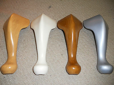 Queen Anne Legs. Set Of 4. Dispatched Next Day