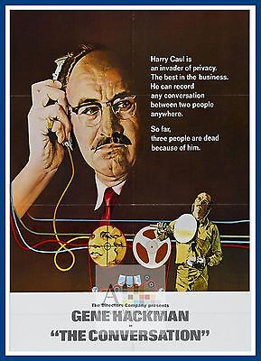 The Conversation  1970's Movie Posters Classic Cinema